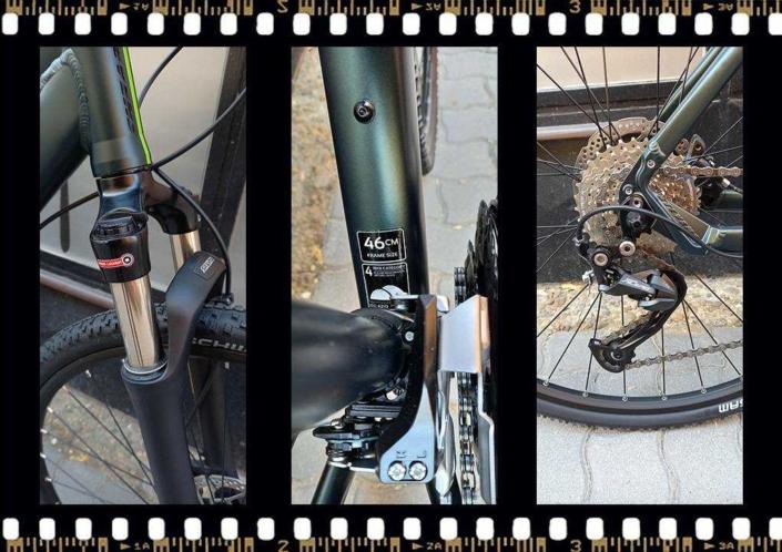stevens 5x cross női bicikli 46-os váz méret