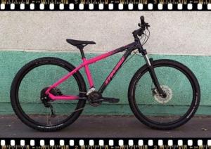 stevens tonga mtb kerékpár pink