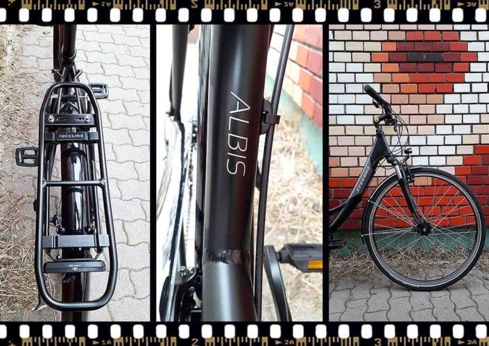 stevens albis forma városi aluminium kerékpár