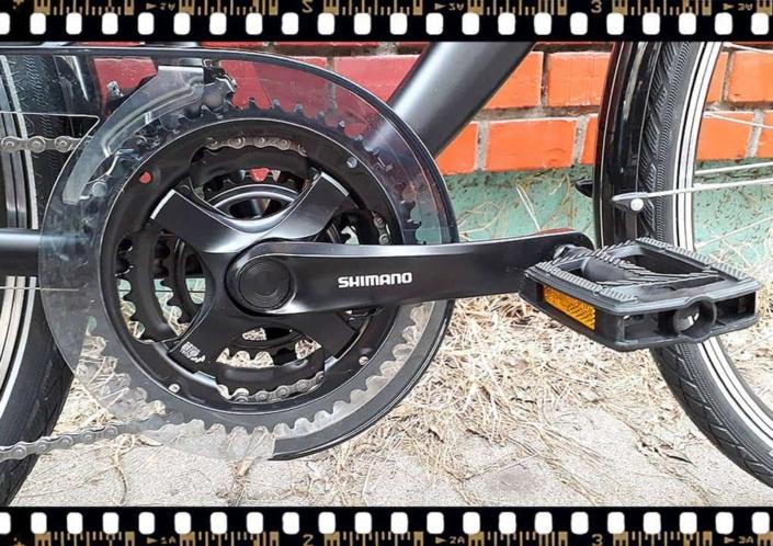 stevens albis forma városi kerékpár hajtómű