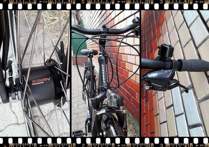 stevens albis forma városi kerékpár nexus agyváltó