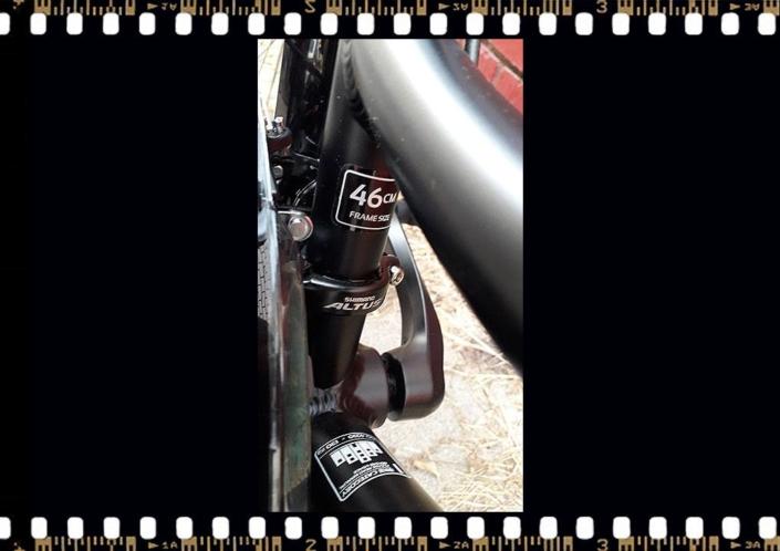 stevens albis forma városi kerékpár vázméret