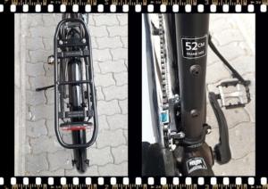 stevens jazz lite barna kerékpár 52-es váz