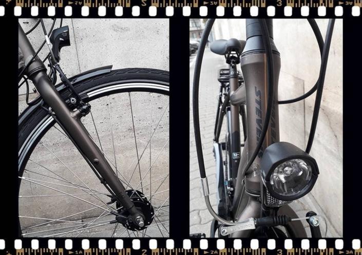 stevens jazz lite barna kerékpár villa