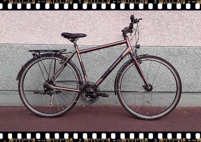 stevens jazz lite trekking férfi bicikli
