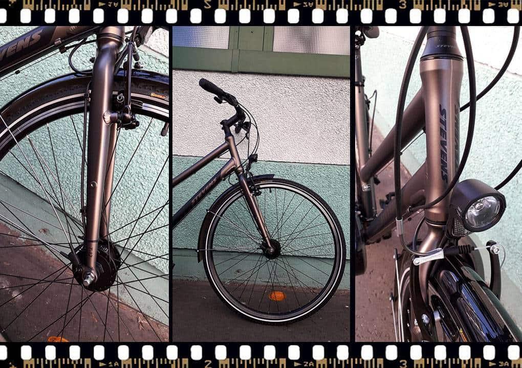 stevens jazz lite női bicikli aluminium villával