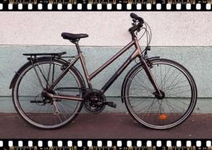 stevens jazz lite női aluminium vázas városi kerékpár