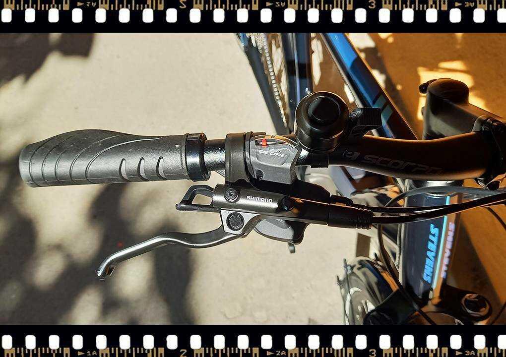 stevens lavena elektromos férfi kerékpár shimano deore váltóval