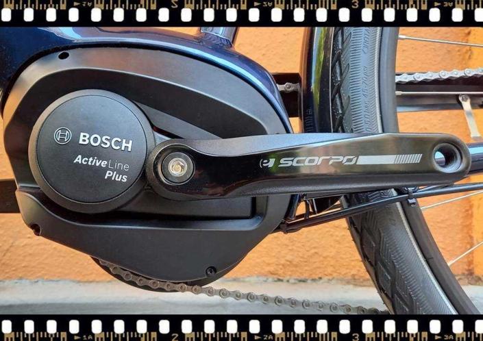 stevens lavena elektromos férfi kerékpár bosch hajtómű