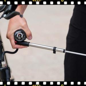 bbb airshock bicikli pumpa teleszkóphoz használatban