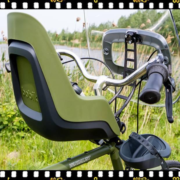 bobike one mini első kerékpáros gyerekülés biciklin