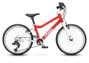 woom 20-as méretű aluminium gyerek bicikli