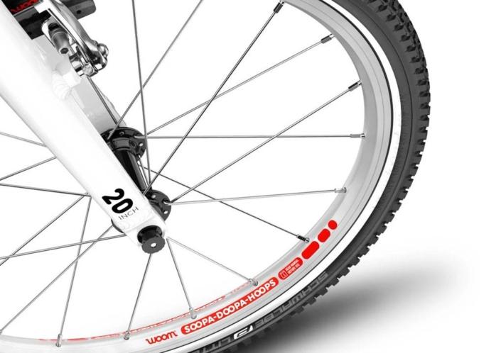 woom 20-as kerék méretű alu vázas gyerek bicikli