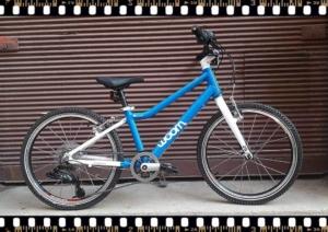 woom 4 kék alu. bicikli bringangyal