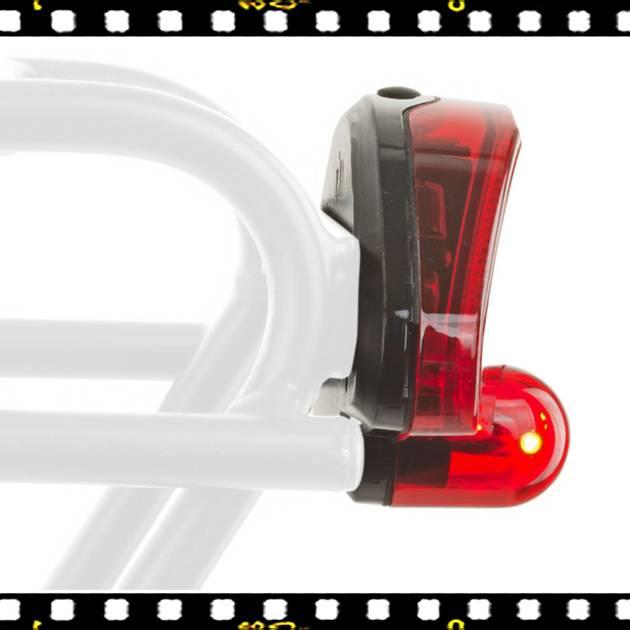author canddy 5 hátsó bicikli lámpa oldalról