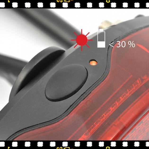 author canddy 5 hátsó bicikli lámpa bekapcsoló gombja