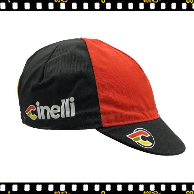 cinelli italo '79 négy szinű bringás sapka oldalt