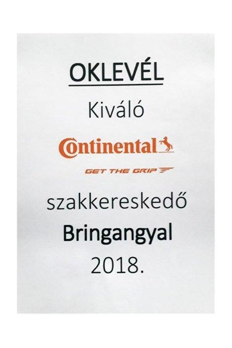 continental szakkereskedői oklevél