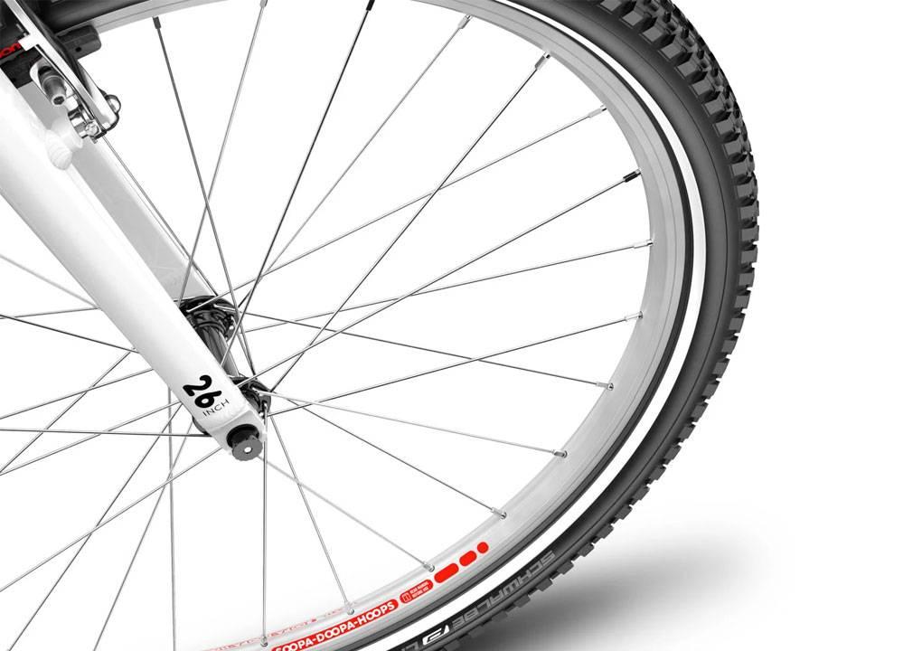 woom 26-os méretű aluminium gyerek bicikli kerék