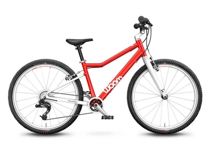 woom 5 piros 24-es gyerek bicikli