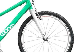 woom 5 zöld 24-es gyerek bicikli kerék