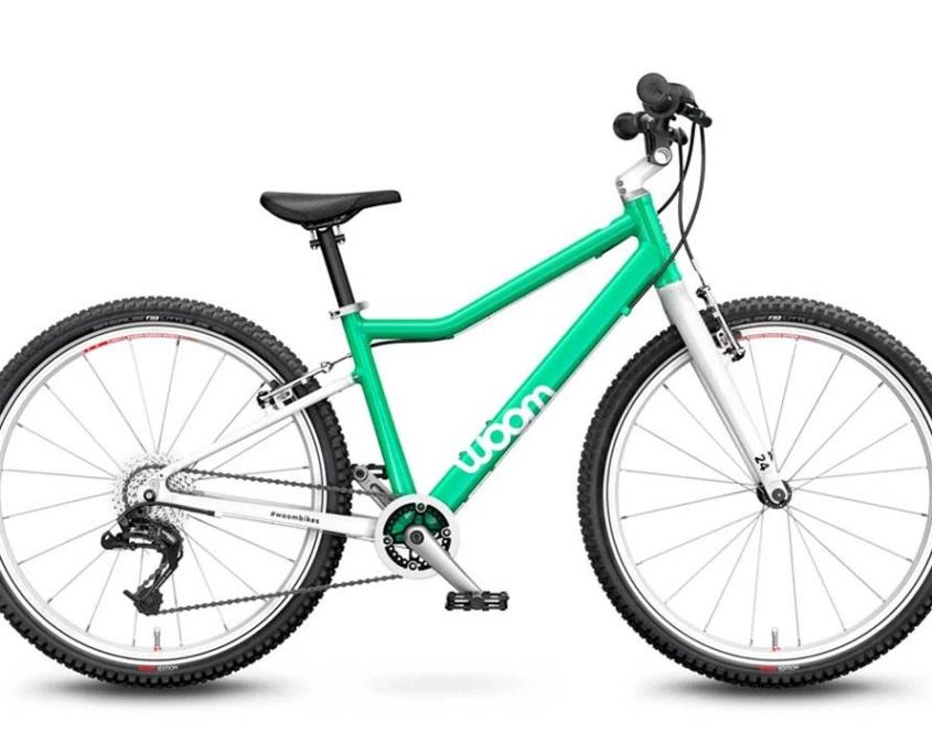 woom 5 zöld 24-es gyerek bicikli