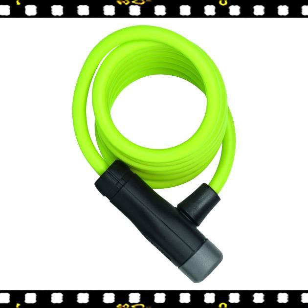 abus star zöld spirál bicikli lakat