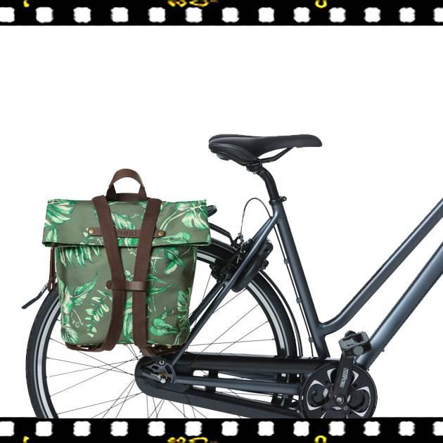 basil ever green kakukkfű zöld biciklis hátizsák csomagtartón