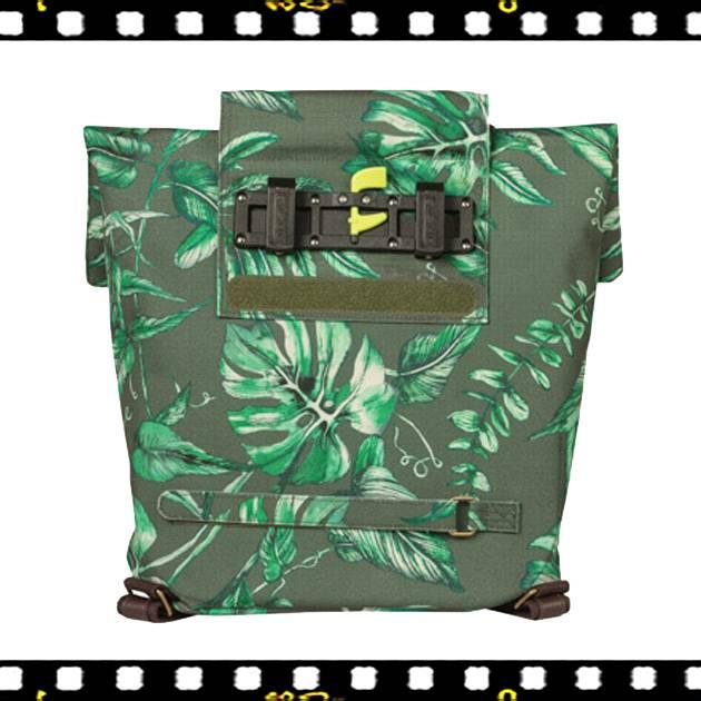basil ever green kakukkfű zöld biciklis hátizsák hátul