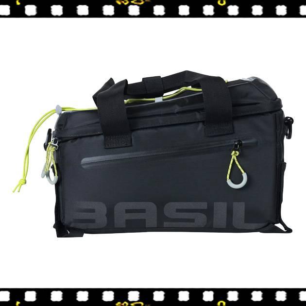 basil miles biciklis csomagtartó táska oldalról