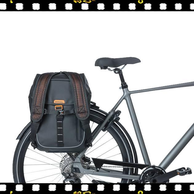 basil miles tarpaulin biciklis hátizsák biciklin