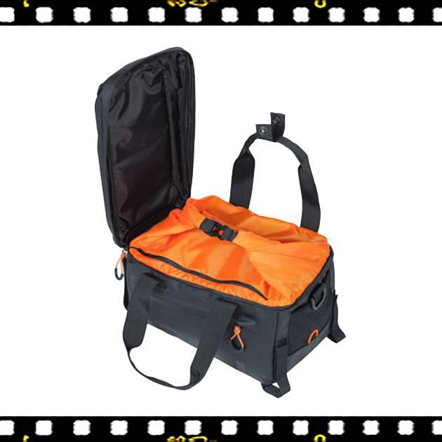 basil miles tarpaulin biciklis csomagtartó táska belülről