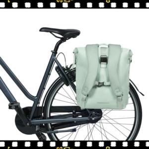 basil soho pasztel zöld biciklis hátizsák csomagtartón
