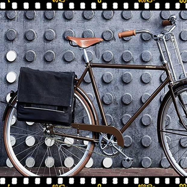 basil urban load messenger biciklis táska kerékpáron