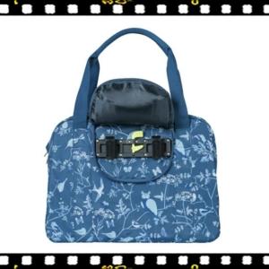 basil wanderlust carry all kék biciklis táska hookon rendszerrel