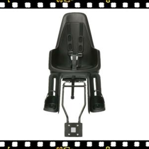bobike one maxi hátsó biciklis gyerekülés fekete vázra vagy csomagtartóra