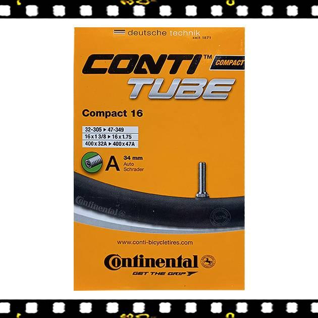 continental compact 16 autó szelepes bicikli belső
