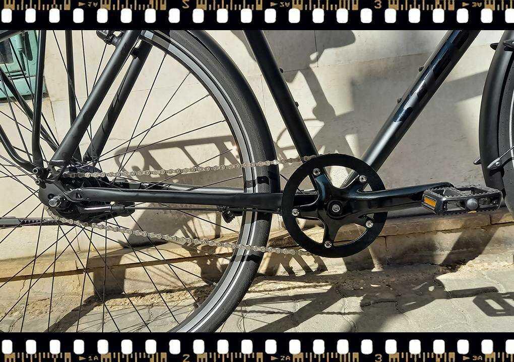 stevens city flight férfi városi kerékpár hajtómű