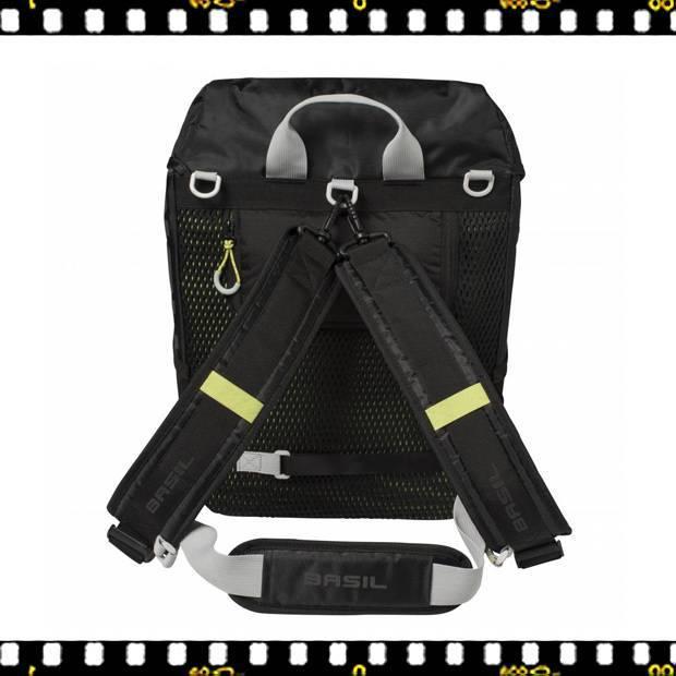 basil miles daypack biciklis hátizsák hátulról