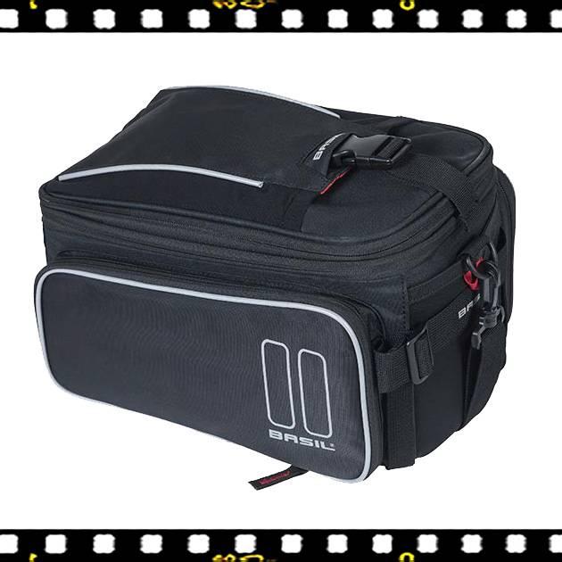 basil sport design biciklis táska csomagtartóra