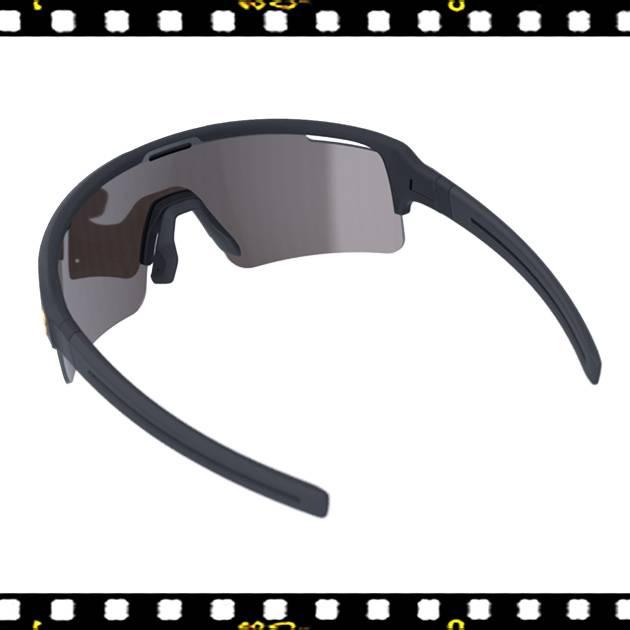 bbb fuse matt fekete biciklis szemüveg mlc lencsékkel hátulról