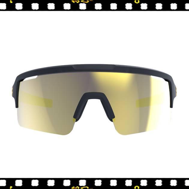 bbb fuse matt fekete biciklis szemüveg mlc lencsékkel elölről