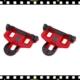 bbb powerclip piros bicikli pedálstopli