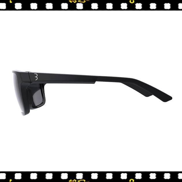 bbb spectre matt fekete biciklis szemüveg oldalt