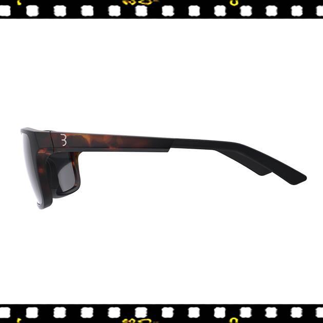 bbb spectre matt teknőc mintás keretű biciklis szemüveg oldalt