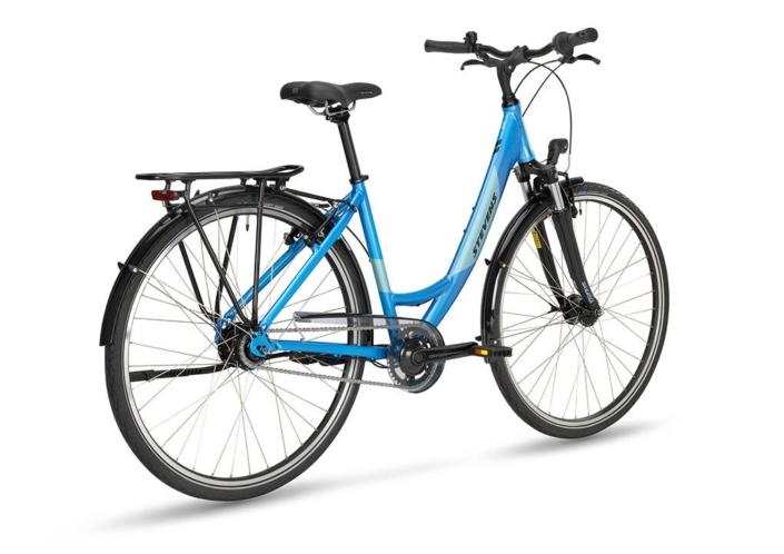 stevens elegance 52-es kerékpár hátulról