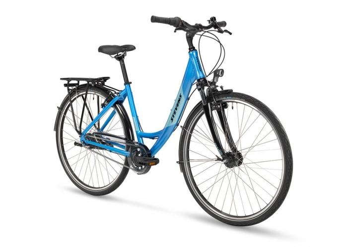 stevens elegance 52-es kerékpár elölről