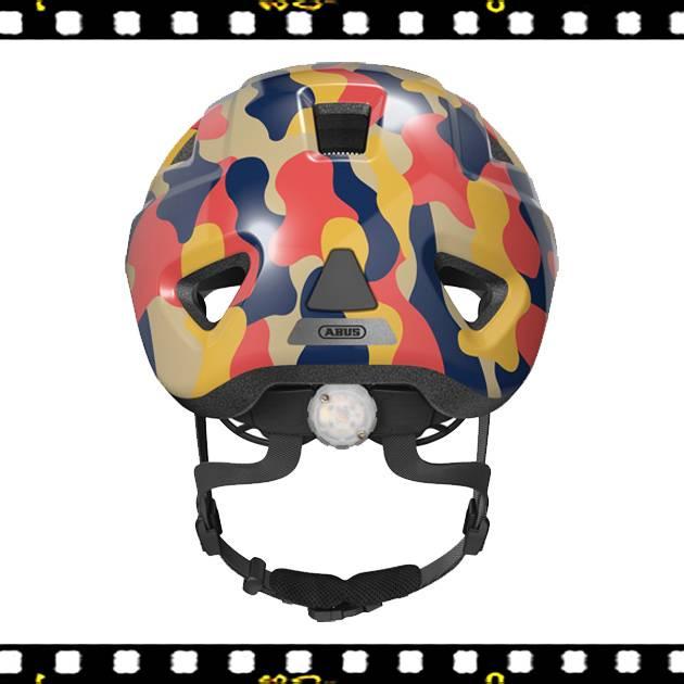 abus anuky 2.0 ace színes bukósisak hátulról