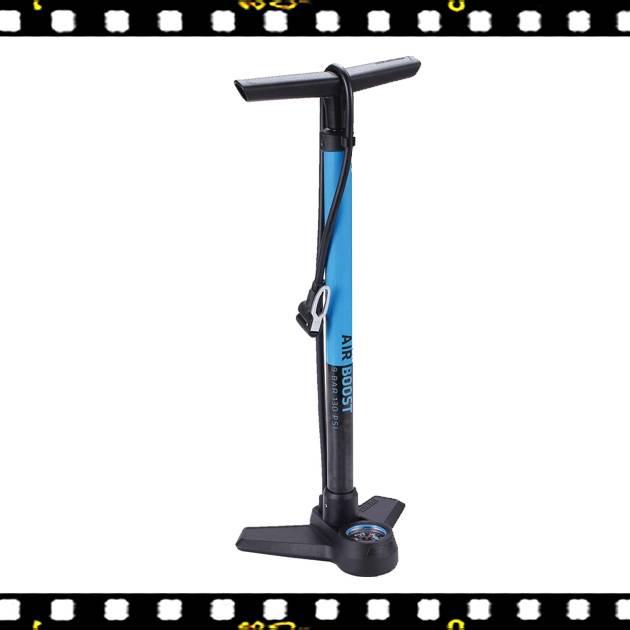 bbb airboots álló kék színű kerékpár pumpa