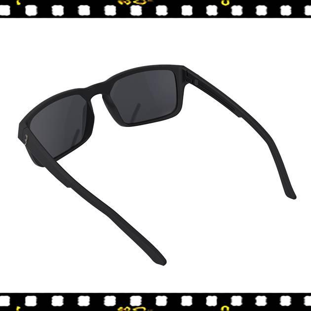 bbb spectre matt fekete biciklis szemüveg arany lencsével hátul